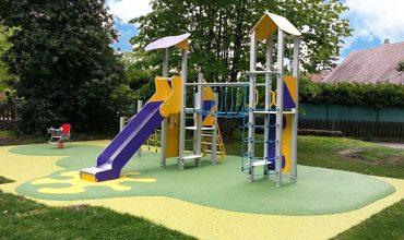 aménagement création d'aires de jeux au centre bourg - fontanil cornillon