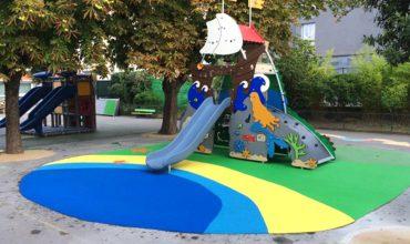 aménagement création d'aires de jeux à l'école rené guest - la garenne colombes